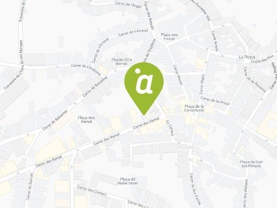 Localización Oficina Alaior - Menorca