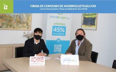 Nuevo convenio con la Asociación China en Baleares